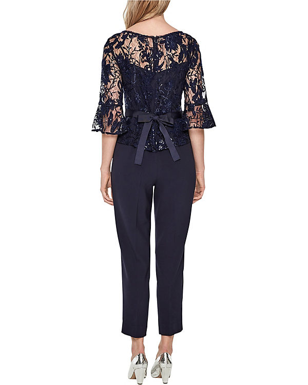 s.Oliver BLACK LABEL Jumpsuit blau