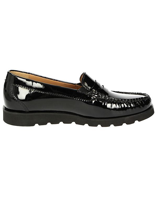 Sioux Klassische Slipper Bodena-XL schwarz
