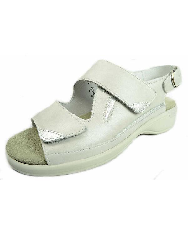 Semler Klassische Sandaletten wei