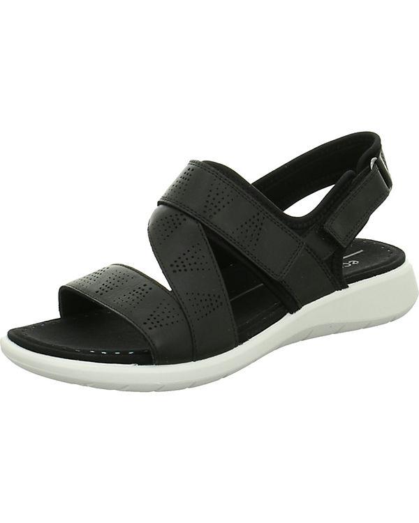 ecco Klassische Sandaletten schwarz