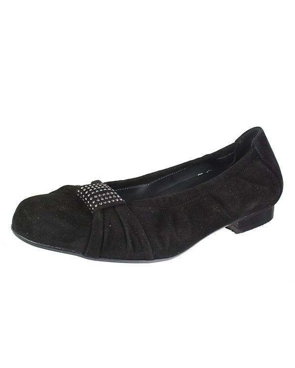 Semler Klassische Ballerinas schwarz