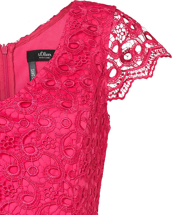Oliver BLACK Spitzenkleid LABEL s pink AxgdZqAn