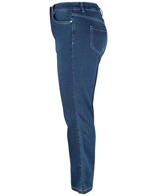 5 Doris Streich 5 Doris Jeans POCKET blau Jeans POCKET STYLE Streich OqIA00