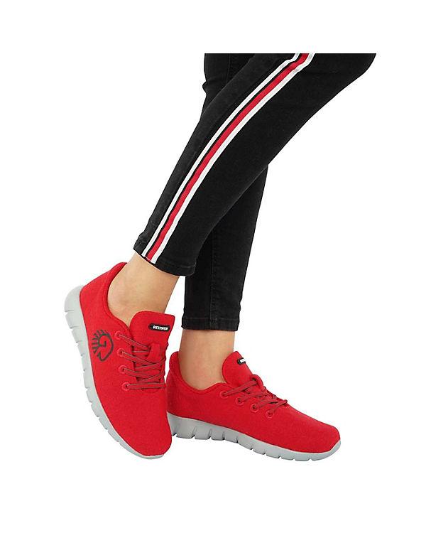 WOMEN rot Merino Sneakers Giesswein Runners Giesswein Giesswein Giesswein P60WxSn