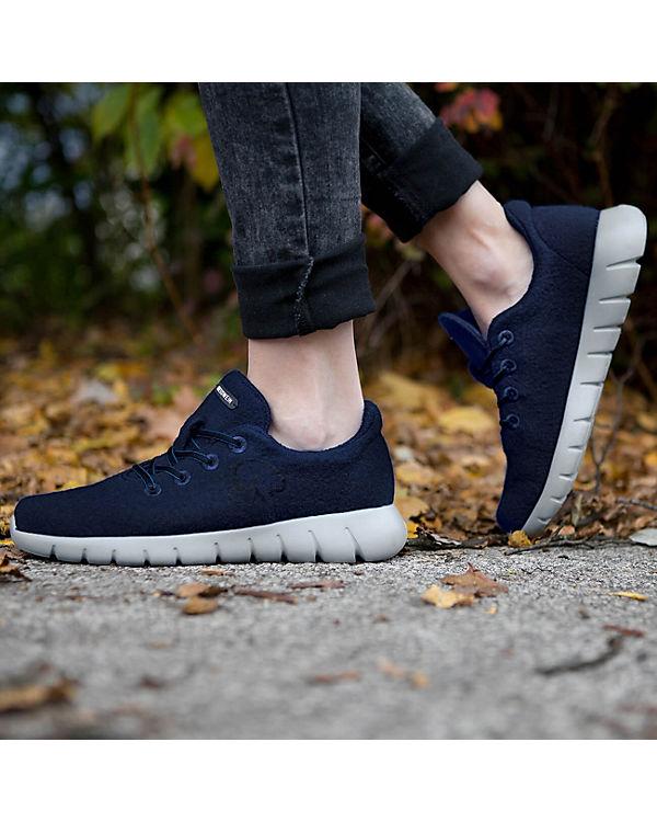 Giesswein Giesswein Sneakers Merino Runners WOMEN dunkelblau