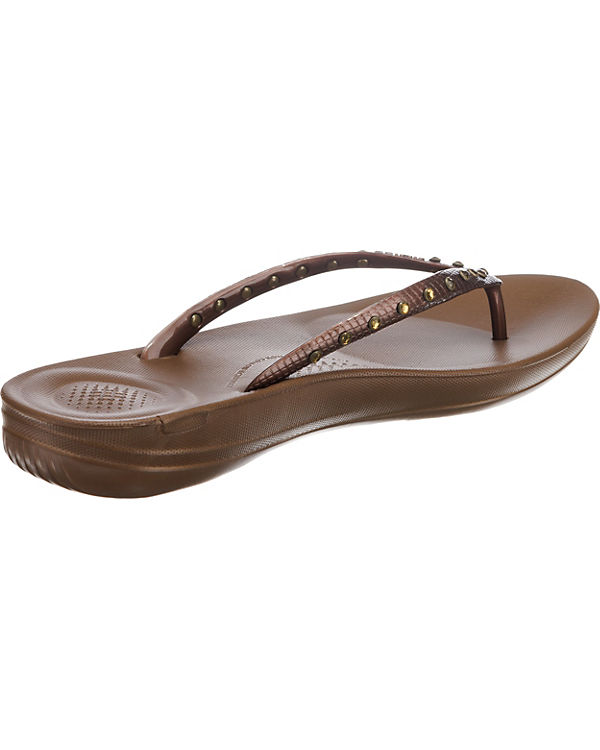 FitFlop IQUSHION Komfort-Sandalen bronze