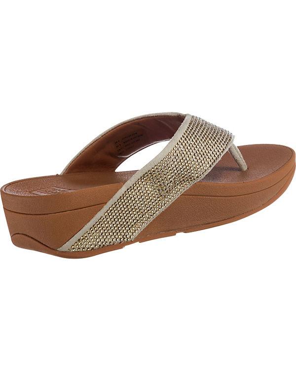FitFlop, RITZY TOE Komfort-Sandalen, Komfort-Sandalen, Komfort-Sandalen, gold f30aa0