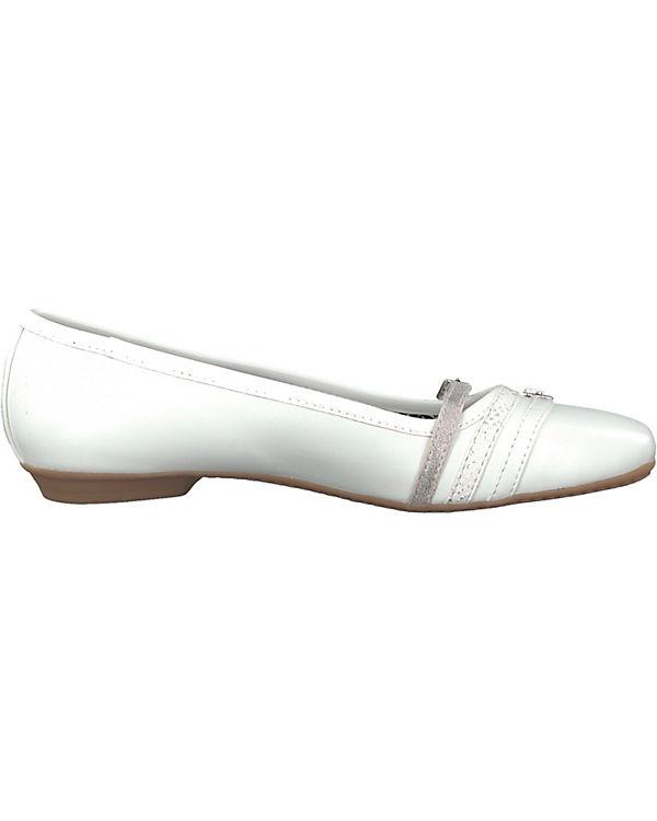 Freies Verschiffen Sammlungen Rabatt Vermarktbare s.Oliver Klassische Ballerinas weiß sVOuAfurX