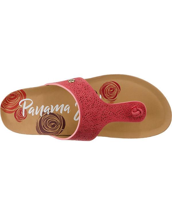 PANAMA JACK, Quinoa Roses Roses Roses B1 Zehentrenner, rot 068cb0