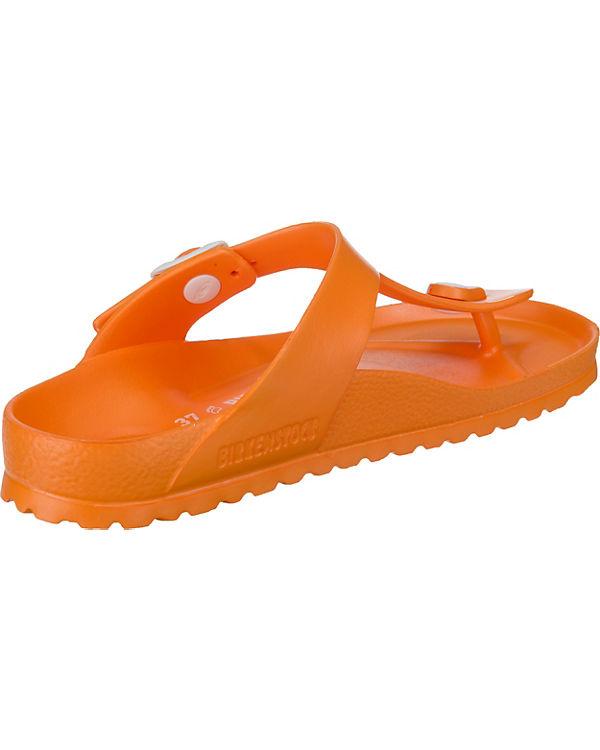 BIRKENSTOCK Gizeh Eva Neon Orange Zehentrenner orange
