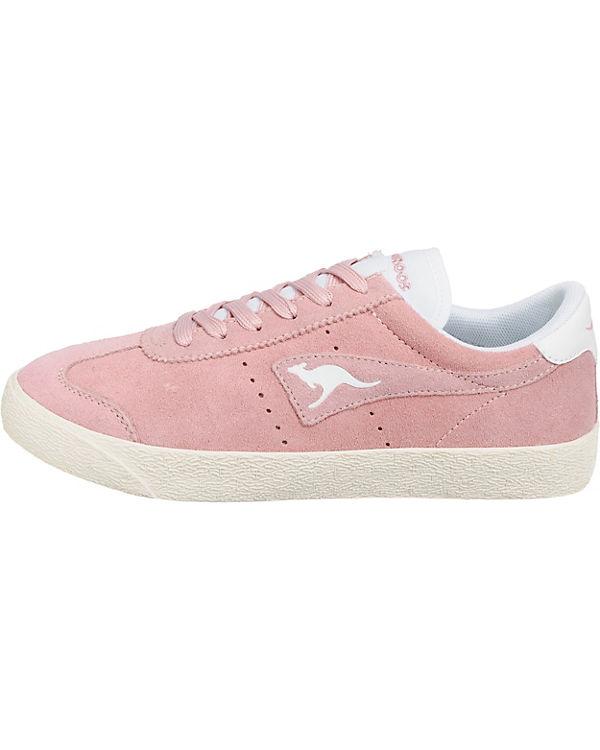Sneakers natur Low rosa Chako KangaROOS 1gRSpc