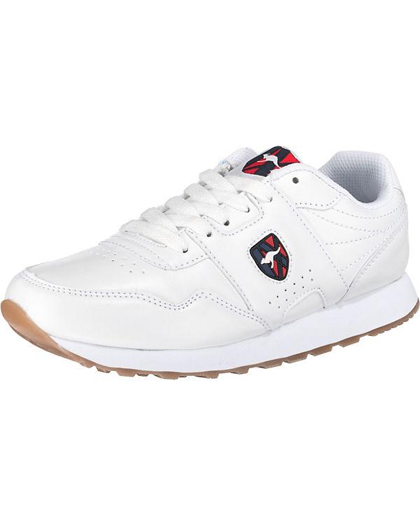 Sneakers weiß Run Low KangaROOS Retro zwfxq6XIE
