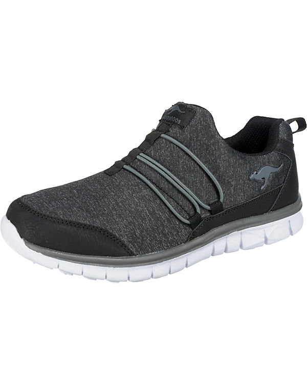 grau Low Sneakers Run schwarz Slip KangaROOS K ZBqXwxU
