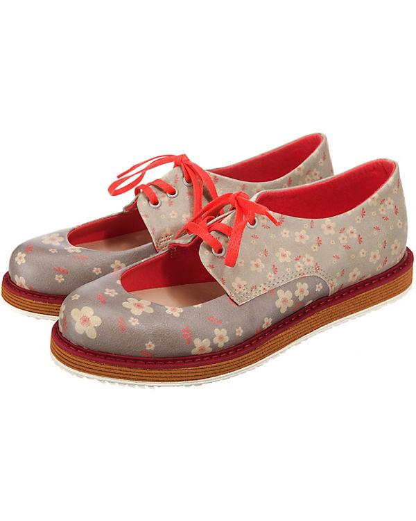 Dogo Shoes Klassische mehrfarbig Klassische Shoes Halbschuhe Dogo Flower Flower Shoes Halbschuhe mehrfarbig Dogo H4gHn1Wq
