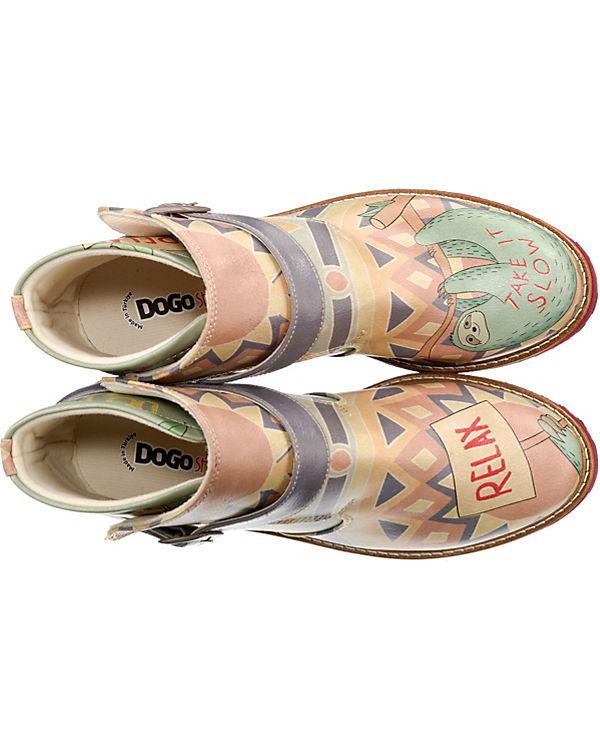 Klassische Stiefel mehrfarbig Relax Dogo Shoes ECqWO5P