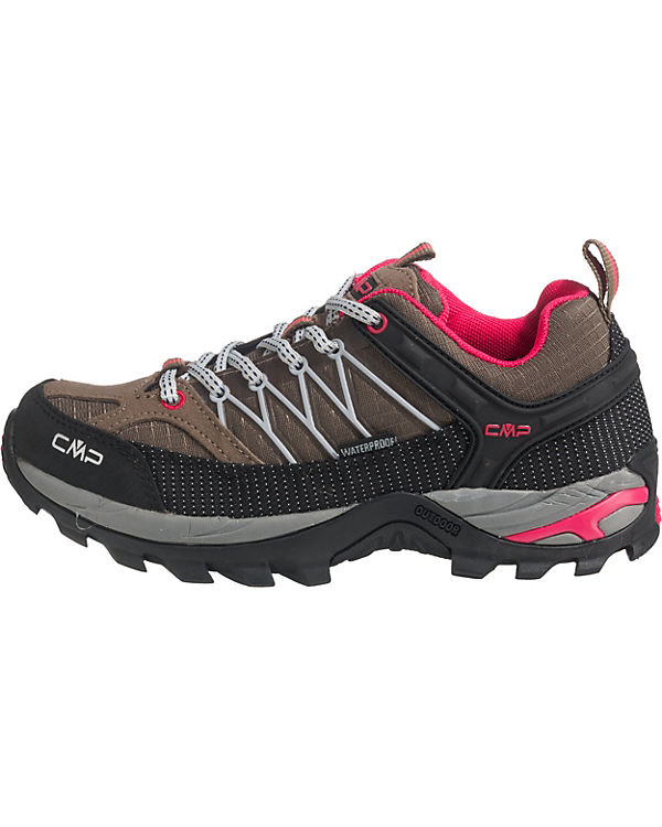LOW Wanderschuhe SHOES TREKKING grau WMN CMP RIGEL WP gw41xq5