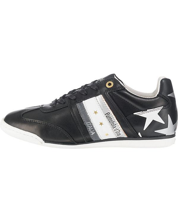Pantofola kombi DONNE LOW d'Oro IMOLA Low Sneakers schwarz pCqpr