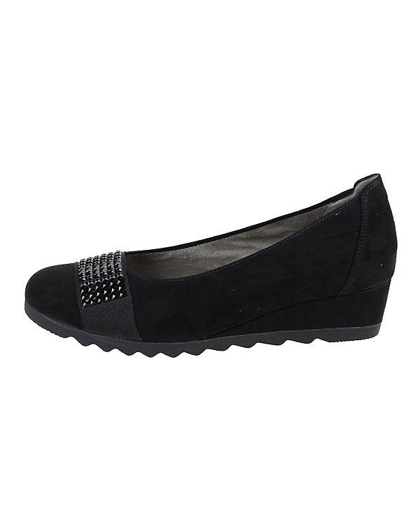 JENNY Komfort-Ballerinas schwarz