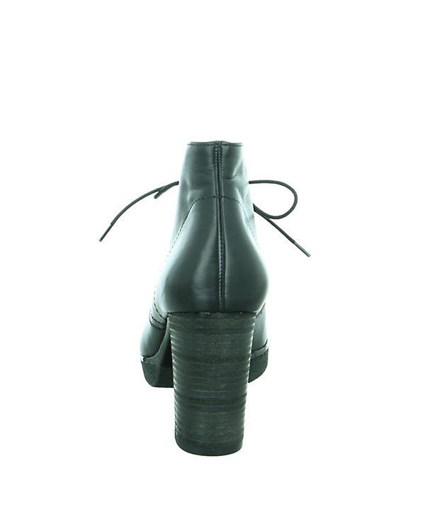Paul Green Schnürstiefeletten schwarz