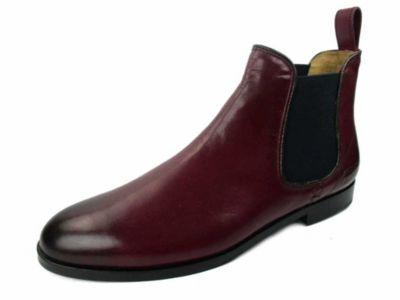 Melvin & Hamilton MELVIN & HAMILTON Sally 45 Chelsea Boots, rot, bordeaux