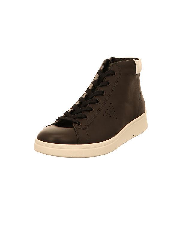 ecco Sneakers High schwarz
