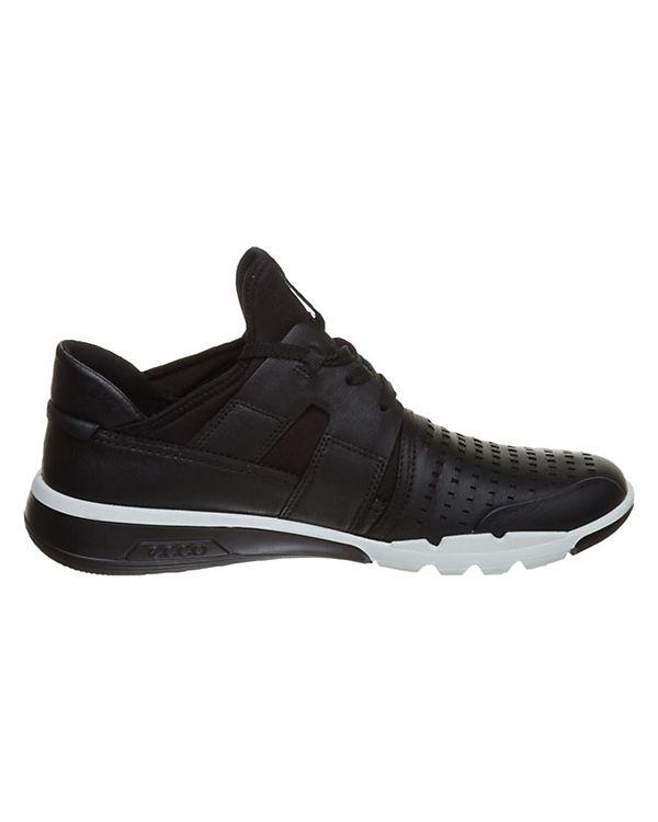 schwarz Sneakers ecco schwarz Sneakers Low ecco Low B5pwgw