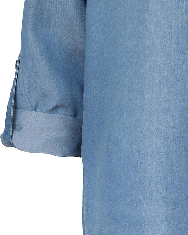 TOM blau TAILOR TOM TAILOR Jeansbluse Jeansbluse blau PxqdvaUwd