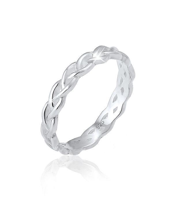 Elli Elli Ring Knoten Unendlich Twisted Trend Blogger 925 Silber silber