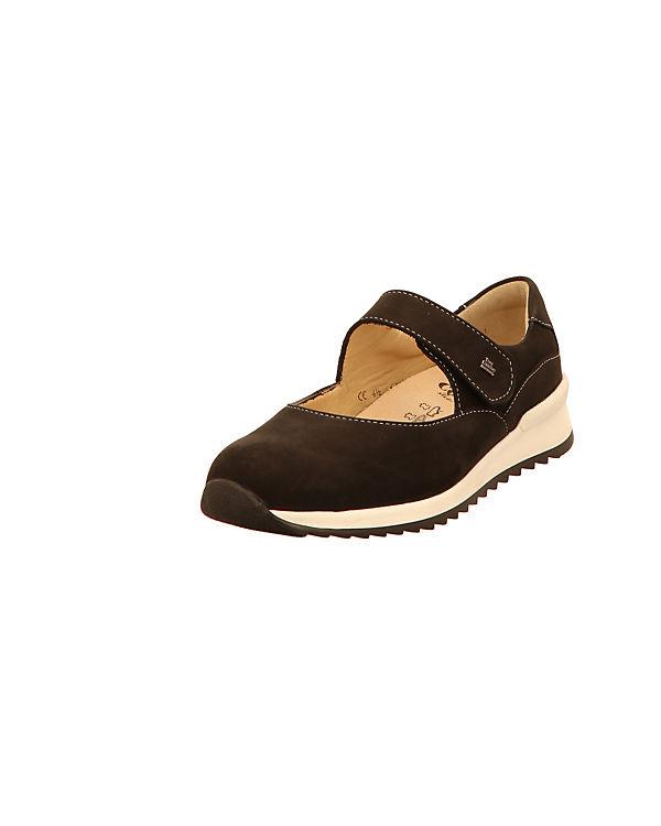 Finn Comfort Komfort-Slipper schwarz