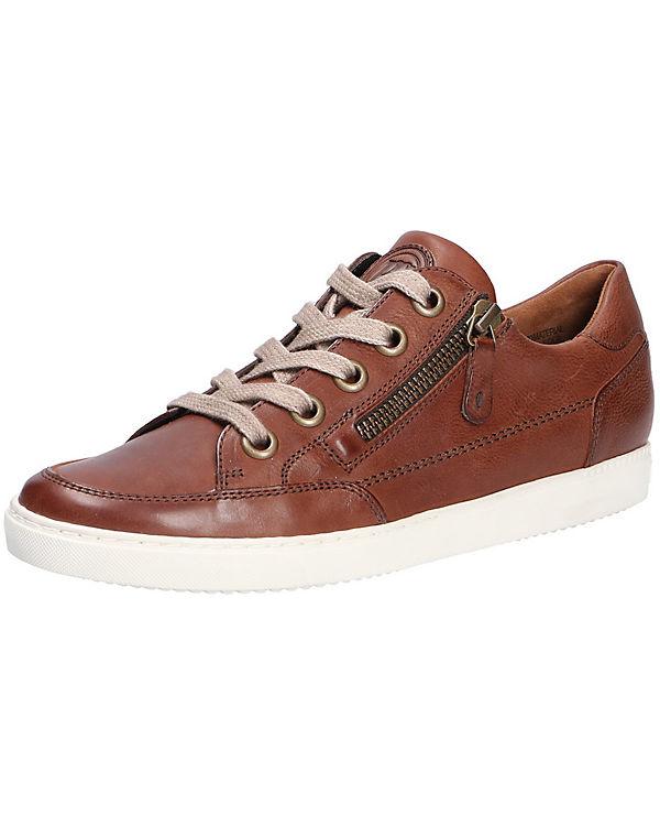 Paul Green Sneakers Low braun