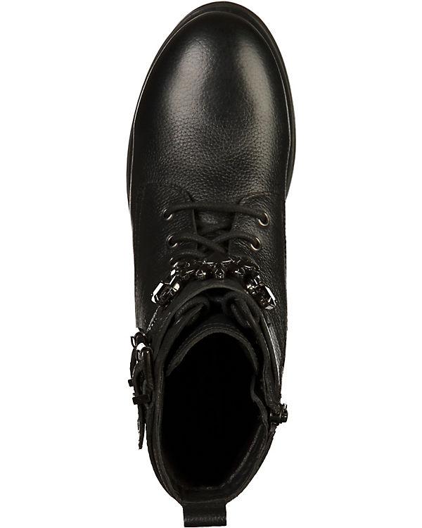 BRONX Biker Boots schwarz