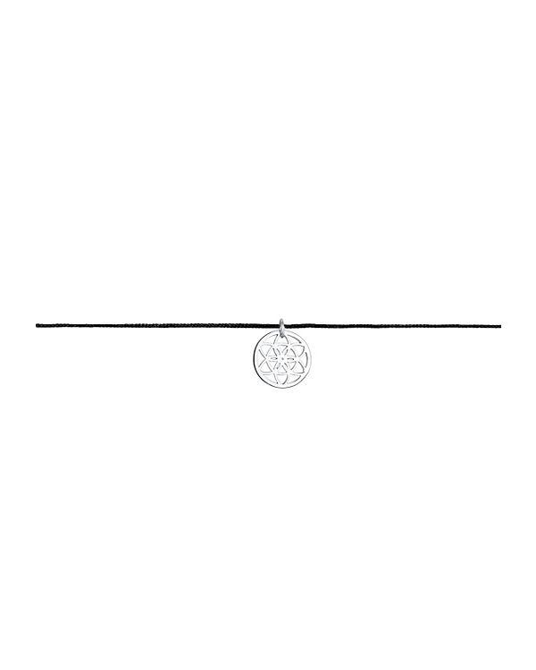 Elli Halskette Choker Ornament Trend Band 925 Sterling Silber silber