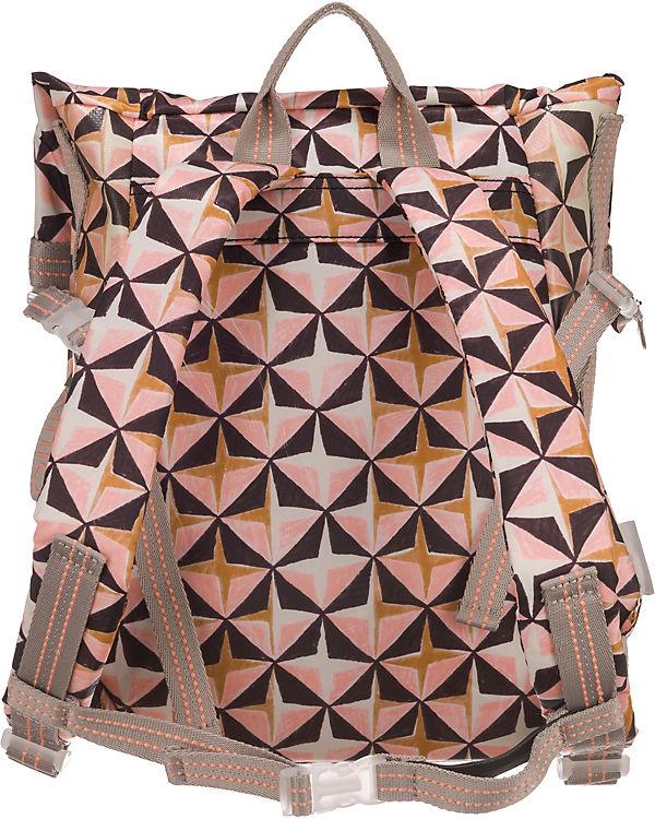 Oilily Lori Geometrical Rucksack rosa