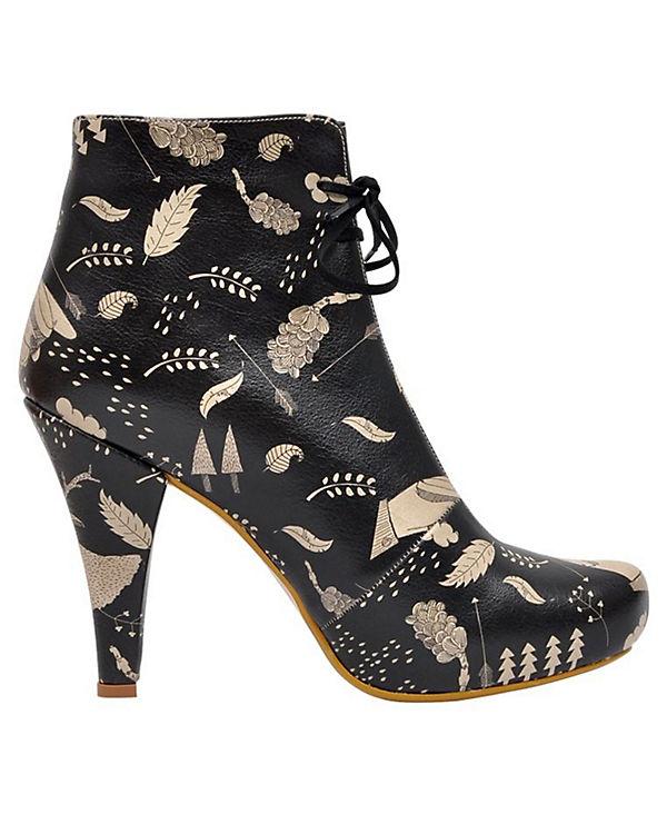 Dogo Shoes Schnürstiefeletten mehrfarbig