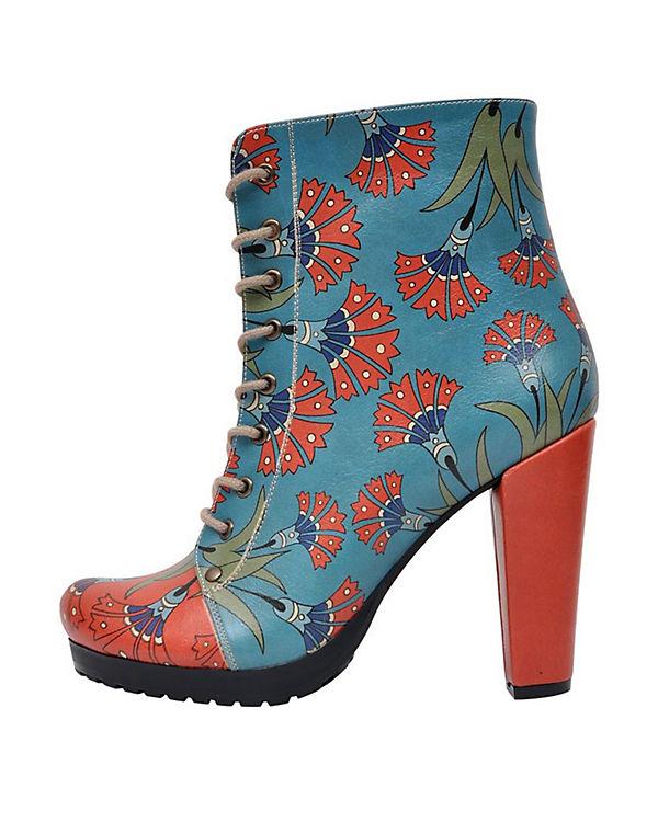 Dogo Shoes Schnürstiefeletten Chloe mehrfarbig