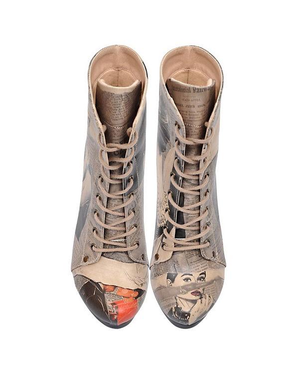 Dogo Shoes, Shoes, Shoes, Schnürstiefeletten Chloe, mehrfarbig e2d8e4