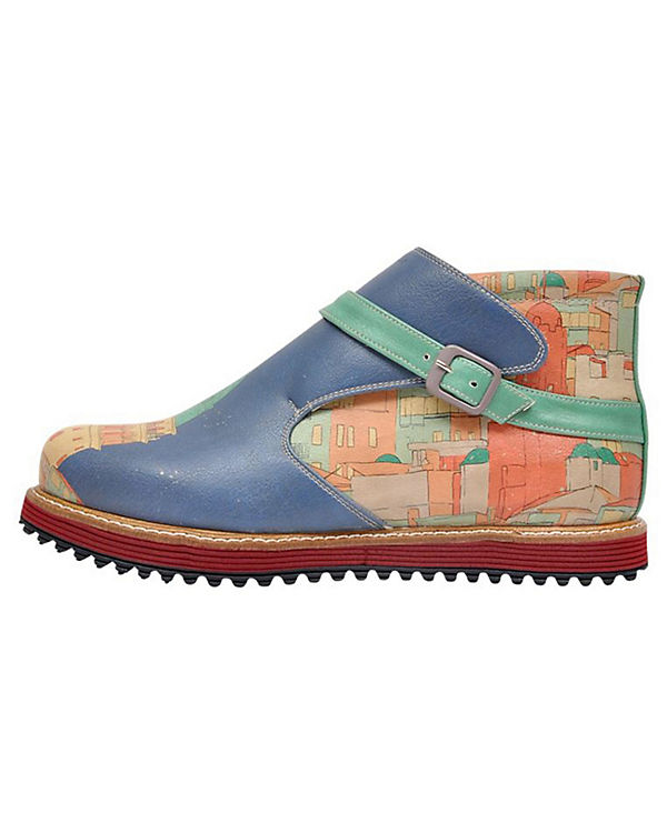 Dogo Shoes Klassische Stiefeletten Kim mehrfarbig