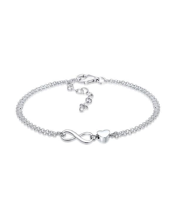 silber armband infinity
