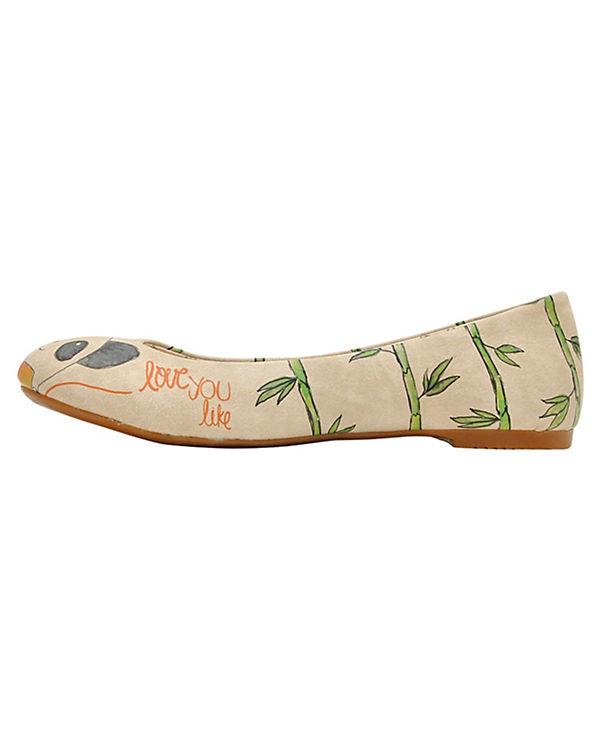 Dogo Shoes, Klassische Ballerinas, mehrfarbig mehrfarbig mehrfarbig df810d