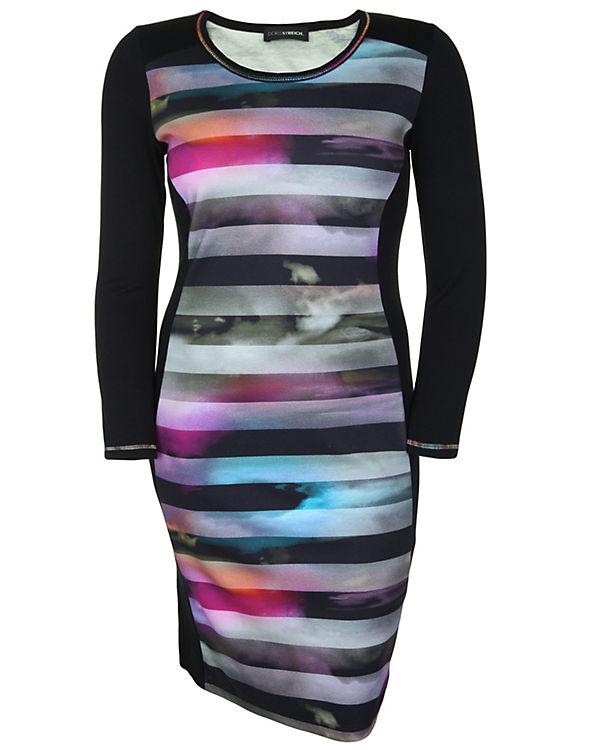 Doris Streich Jerseykleid mehrfarbig