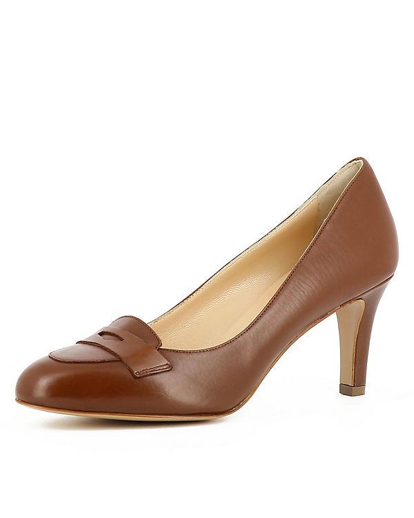 Evita Shoes Klassische Pumps BIANCA cognac