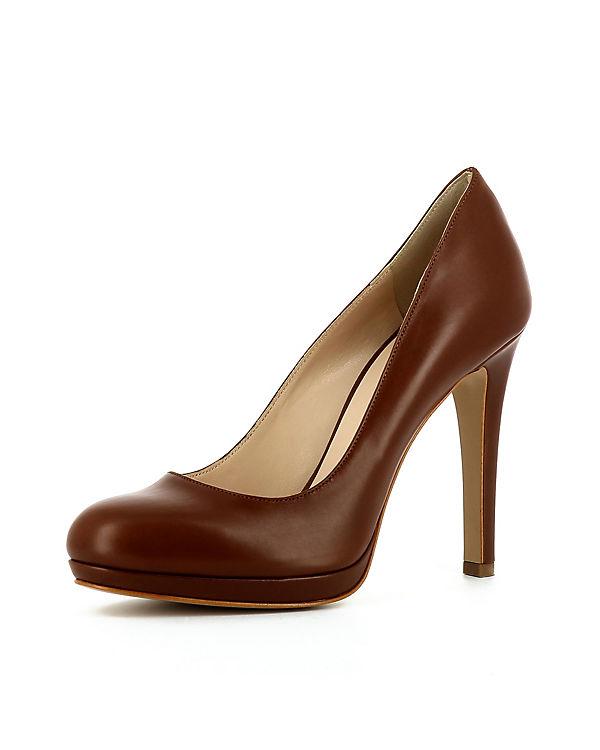 Evita Shoes, Klassische Pumps CRISTINA, braun braun braun 5e1029