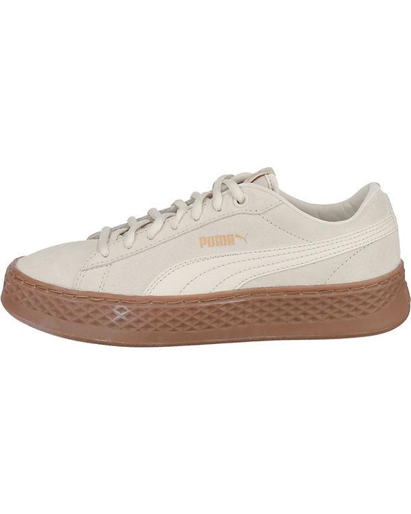 beige Smash Sneakers Low SD Platform PUMA Puma qBOUY