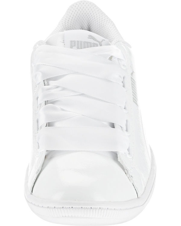 PUMA P Sneakers Low Ribbon weiß Vikky F6rqczFTH