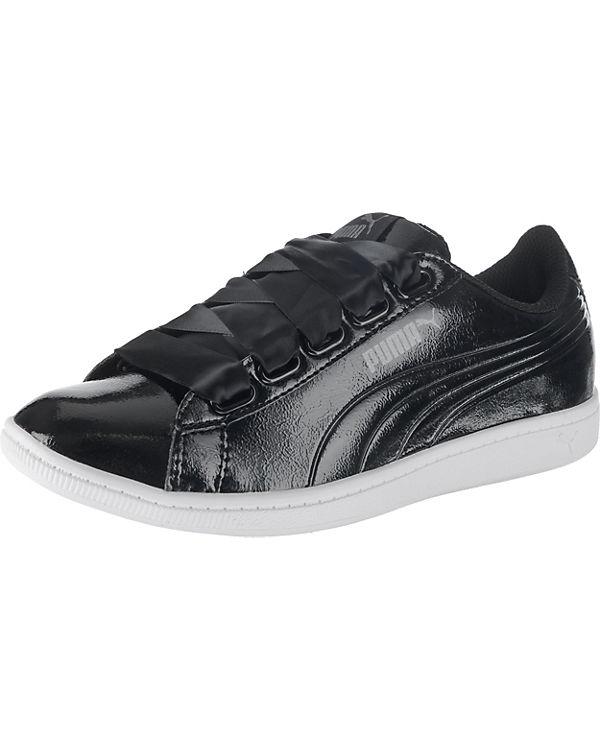 PUMA Vikky Ribbon P Sneakers Low schwarz
