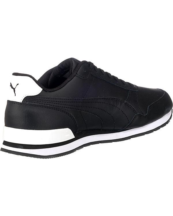 Full schwarz v2 PUMA L Low Sneakers Runner St 0wxEEnqtWB