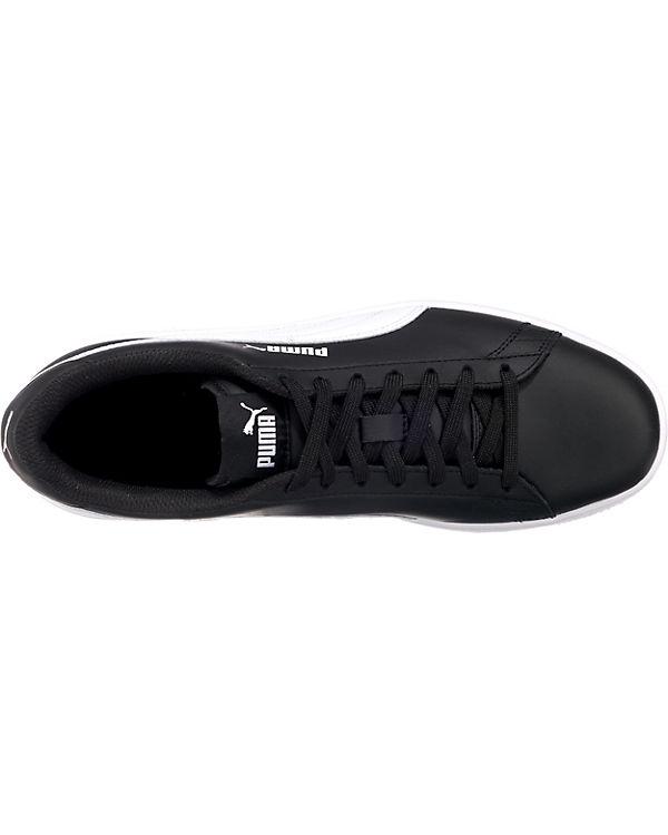 kombi Sneakers Puma schwarz PUMA L Low Smash v2 qFRvw0Z