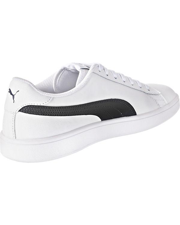 Low v2 weiß Sneakers Puma L Smash PUMA qSwnXpFC