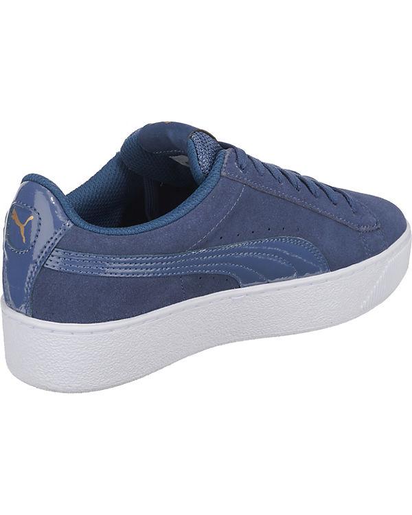 blau Low Sneakers Vikky PUMA Platform SHxwIqnRnt