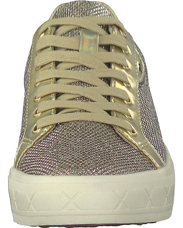 kombi Tamaris Tamaris Sneakers Low gold Sneakers 1rrSqBX